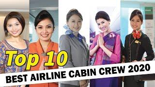 World's Top 10 Best Airline Cabin Crew 2020