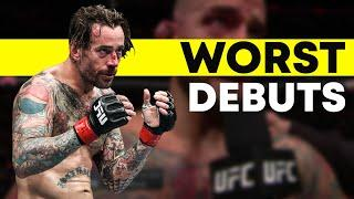 Top 10 Worst UFC Debuts of All Time
