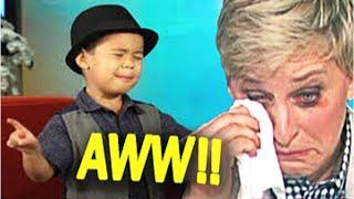 This Kid Made Ellen Cry... After He...