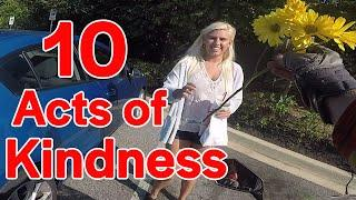 Top 10 Random acts of Kindness 2019 - ARK #22