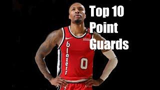 Top 10 point guards of the 2019-20 season