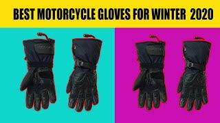 top 10 best motorcycle gloves for winter 2020