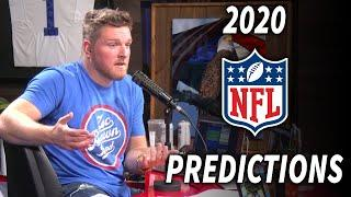 Pat McAfee Predicts The 2020 NFL Division Winners