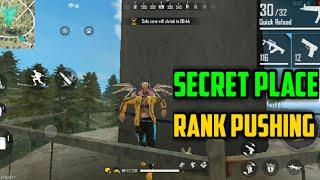 PEAK HIDDEN PLACE IN FREE FIRE ! TOP 10 HIDE PLACE IN BERMUDA MAP ! RANK PUSH TIPS ! equal gaming