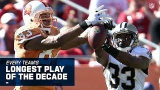 Every Team's Longest Play of the Decade!