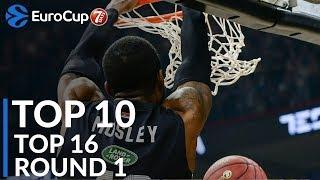 7DAYS EuroCup Top 16 Round 1 Top 10 Plays