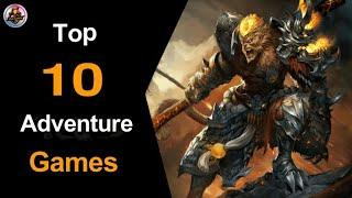 Top 10 Adventure Games for Android by Mr Alone