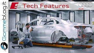 2021 Audi S8 - INTERIOR - TECH FEATURES
