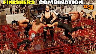 WWE 2K20 Finishers After Finishers Combination Part 3! Top 10