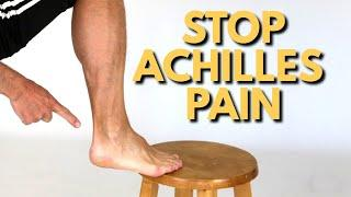 3 Steps to Stop Achilles Tendon Pain Quickly At Home