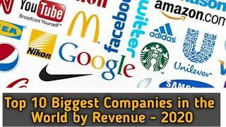 Top 10 Biggest Companies in the World by Revenue - 2020