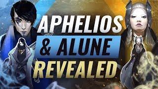 NEW CHAMPION: APHELIOS & ALUNE REVEALED + Upcoming New Skins - League of Legends Season 10
