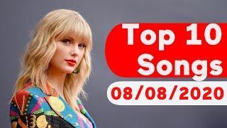 US Top 10 Songs Of The Week (August 8, 2020)