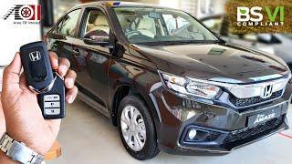 2020 Honda Amaze BS6 CVT Automatic | On Road Price List | Mileage | Features | Specs