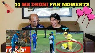 Top 10 Ms Dhoni Fan Moments | Heart Touching Moments | MS Dhoni - Respect Moments
