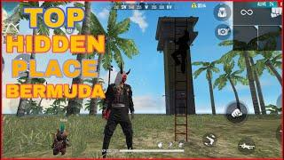 New Top Hidden Places In Free Fire Bermuda - 2021 || New Hidden Place After Update By Indian Gaming