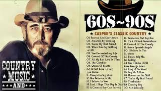 Top 100 Classic Country Songs Of 70s 80s 90s - Old Country Love Songs By Greatest Country Singer
