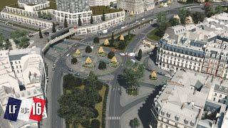 Cities Skylines: Little France - Traffic Transit changes and new Commercial Area #16