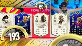 INSANE 193 RATED!! MY HIGHEST RATED DRAFT!! FIFA 20 Ultimate Team