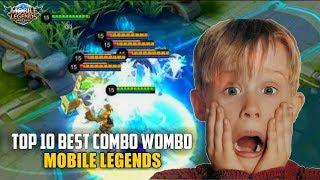 TOP 10 BEST TEAM WORK COMBO WOMBO MOBILE LEGENDS !!