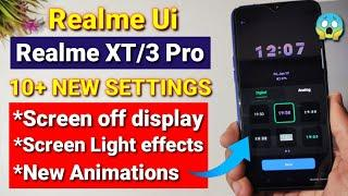 Realme Ui Screen off display feature, screen light effects | Realme XT Realme UI features Ambient