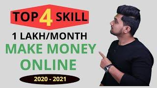 Top 4 skills of 2020 | Earn lakhs/month LIKE ME !! | Anyone can learn FREE! | Work from Home