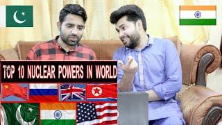 Pakistani reacts to 10 सबसे शक्तिशाली परमाणु देश | Top 10 NUCLEAR POWER Countries in the World ☢