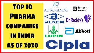Top 10 Pharmaceutical companies in India 2020 | Top 10 pharma company