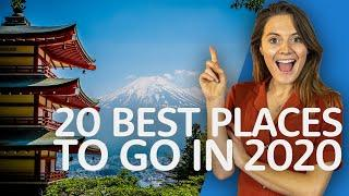 Top 20 BEST Travel Destinations For 2020 | World's Best