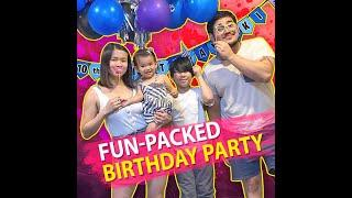 Fun packed birthday party | KAMI | Reyes made her son Aki's 10th birthday full of pleasant memories