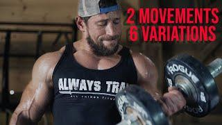THE ULTIMATE SUPERSET WORKOUT. CHEST AND BICEPS