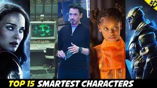 Top 15 Smartest Characters In MCU [Explained In Hindi]