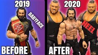 HOW TO MAKE AN UPDATED SETH ROLLINS FIGURE! 2020 HEEL ROLLINS!