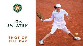 Shot of the Day #14 - Iga Swiatek I Roland-Garros 2020
