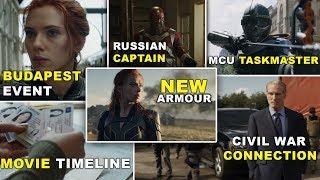 25 Things You Missed in Black Widow Trailer | Hindi
