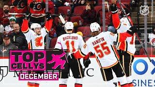 Wildest, Wackiest, Most Exuberant Cellys of December | NHL