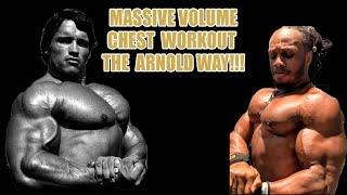 ARNOLD STYLE CHEST WORKOUT