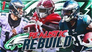 Rebuilding The Philadelphia Eagles | Henry Ruggs 99 Speed Makes Wentz A MVP! | Madden 20 Franchise