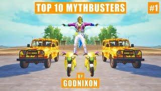 Top 10 Mythbusters in PUBG Mobile   PUBG Myths Part - 1