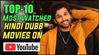 Top 10 Most Watched South Movies In Hindi Dubbed On Youtube | Hindi Dubbed South Movies 2020