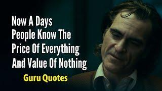 Top 10 Life Changing Badass Quotes | Attitude Quotes | Joker Quotes | Guru Quotes