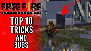 Top 10 New Tricks In Free Fire || Latest Bugs And Glitches In Free Fire