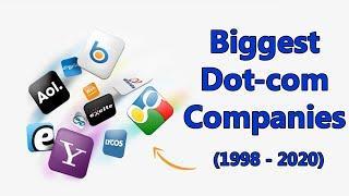 Biggest Dot Com Companies | Top 10 Dot Com Companies (1998-2020)