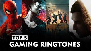 Top 5 Gaming Ringtones | Spider Man, Witcher 3, Far Cry 5 etc | Free Download Link in Description