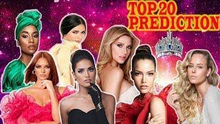 Miss Universe 2019 TOP 20 PREDICTION RANDOM ORDER