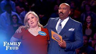 The Tirres family TAKES OVER Fast Money! | Family Feud