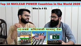 Top 10 NUCLEAR POWER Countries in the World 2020 | PAKISTAN REACTIONS