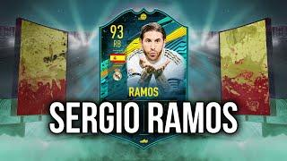 SERGIO RAMOS PLAYER MOMENTS PLAYER REVIEW FIFA 20 ULTIMATE TEAM