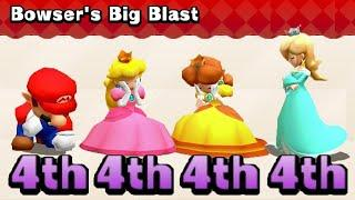 Mario Party The Top 100 MiniGames Mario Vs Peach Vs Daisy Vs Rosalina (Master Difficulty)