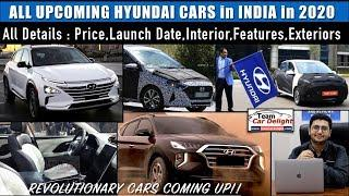 All Upcoming Hyundai Cars in India in 2020-21 Complete Details - Price,Launch Date,Review